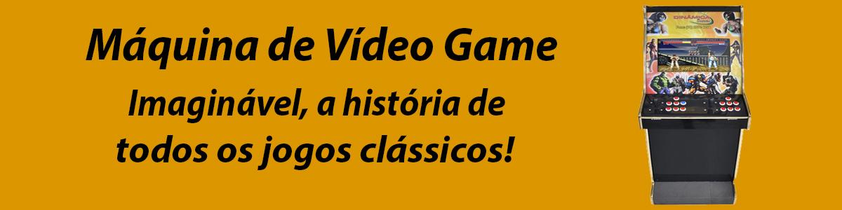 Máquinas de Videogame e Pinball