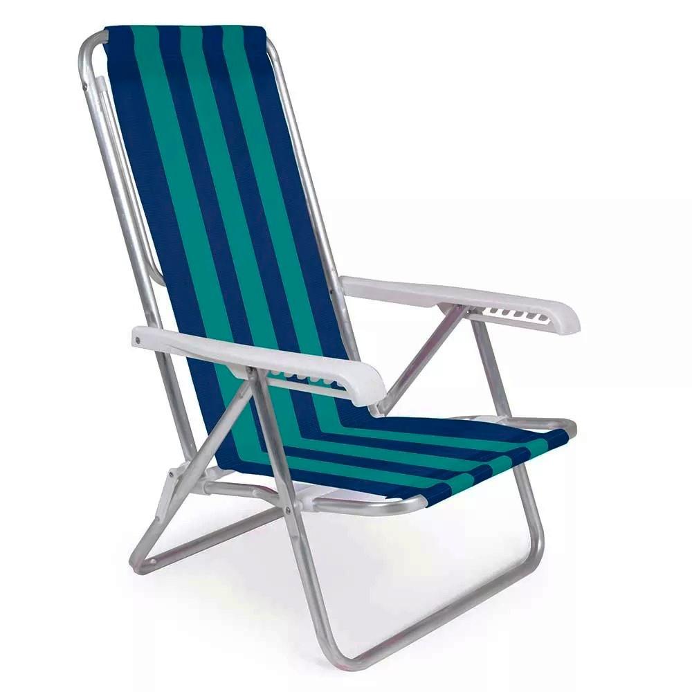 Cadeira Reclinável com 08 Posições
