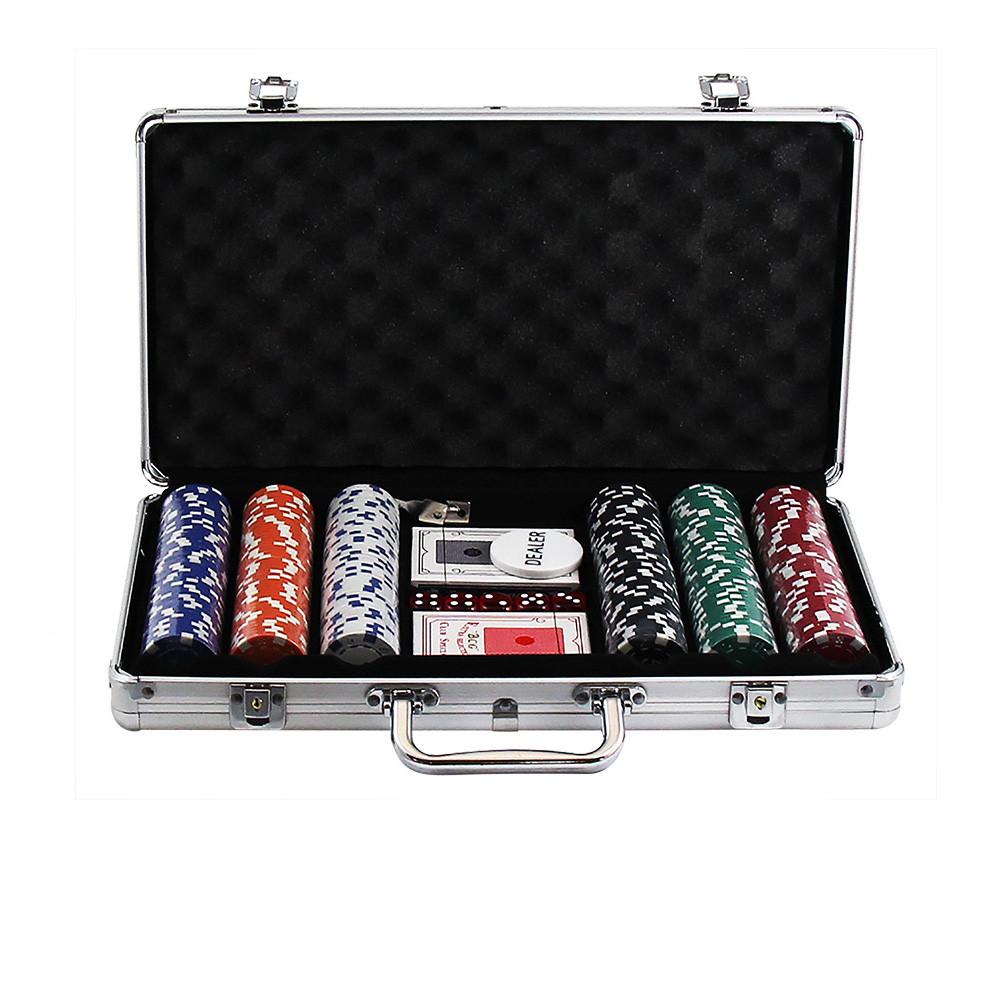 Maleta para Jogo de Poker com 300 Fichas