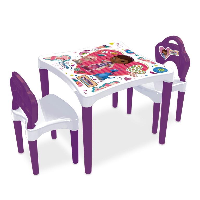 Mesinha com Cadeiras Dra. Brinquedos