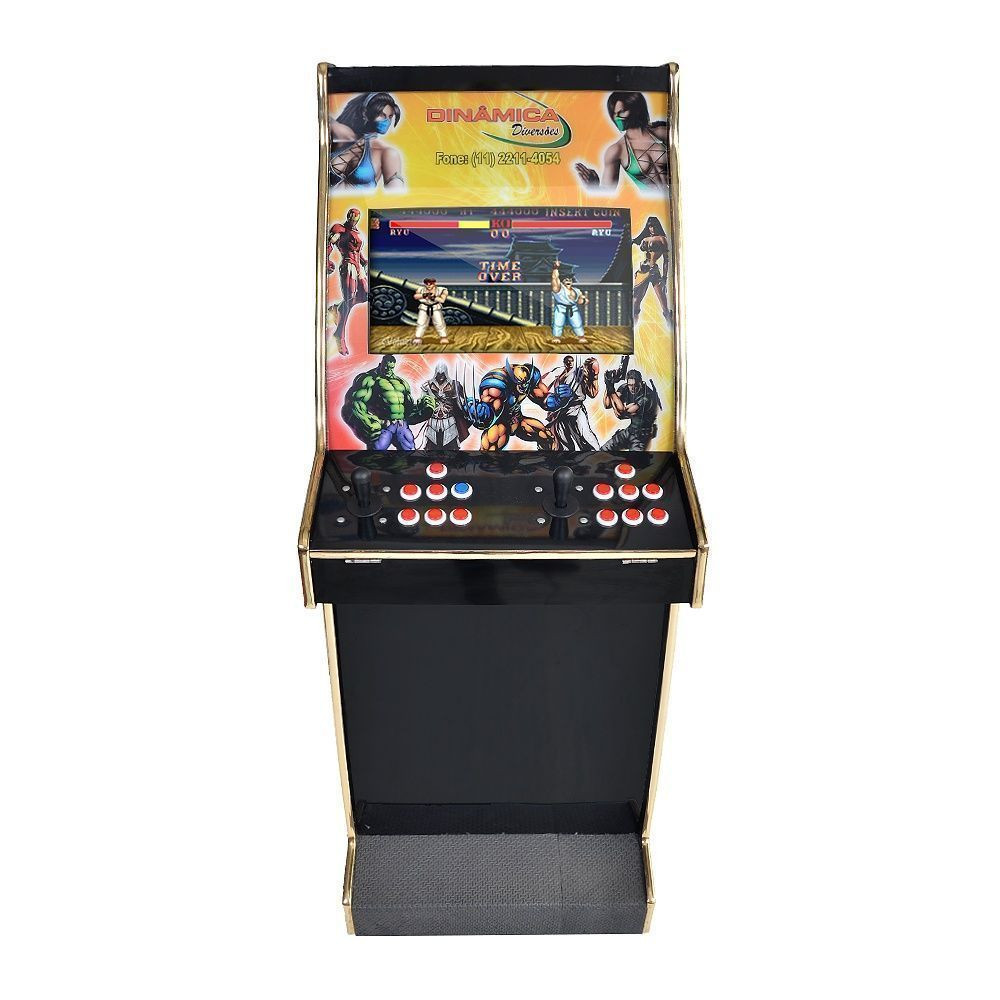 Máquina Videogame 5.000 Jogos Black