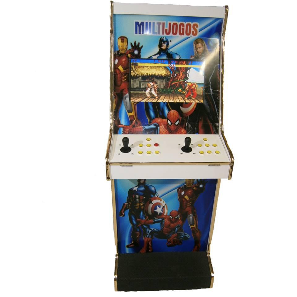 Máquina Videogame 5.000 Jogos Heroes II