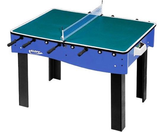 Pebolim com Tampo para Ping-pong e Botão