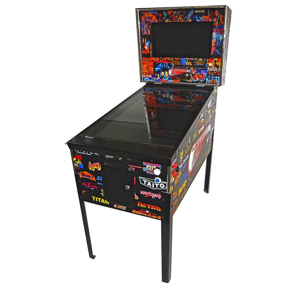 Máquina de Pinball Digital com 200 Jogos